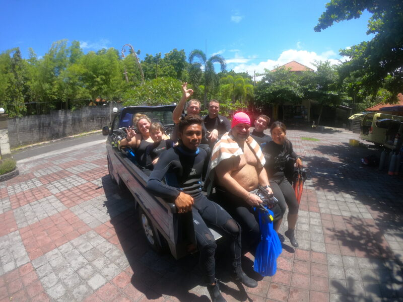Potápění na Bali s Dive Crew.